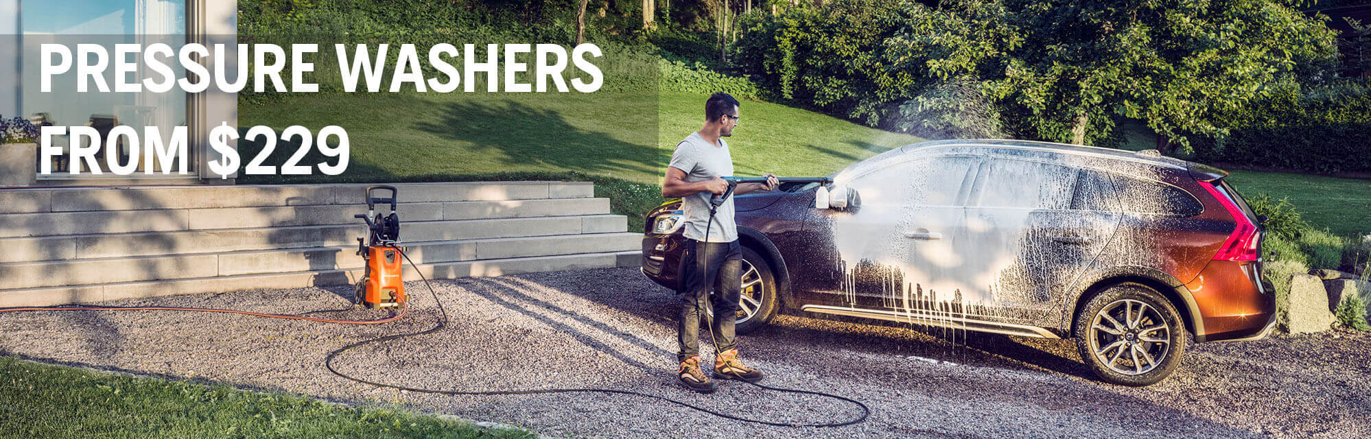 Spring Pressure Washers